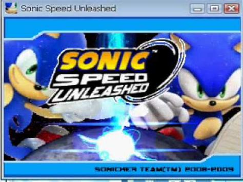 sonic unleashed fan game fan game sonic speed unleashed engine test cancelado