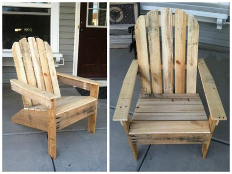 White Adirondack Chair Pallet by Adirondack Pallet Chairs Pallet Ideas Chairs And