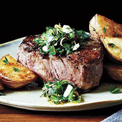 How to sous vide cook tenderloin filet. Peppercorn-Crusted Beef Tenderloin with Gremolata Recipe ...
