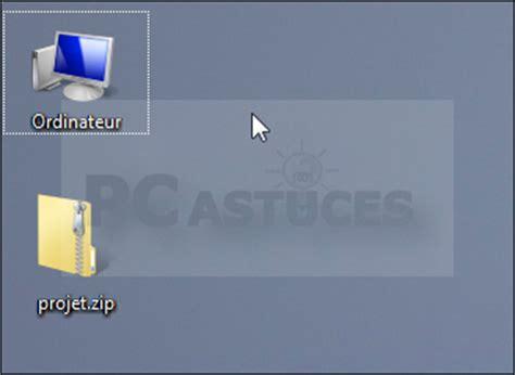 agrandir icones bureau agrandir les icônes du bureau windows vista et windows 7