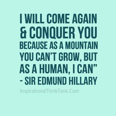 Image result for Sir Edmund Hillary Quotes