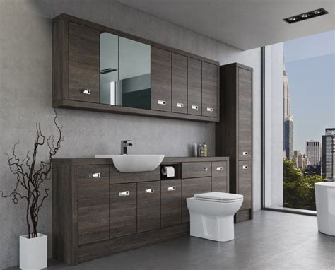 Modern Bathroom Fitted Furniture-bluewater