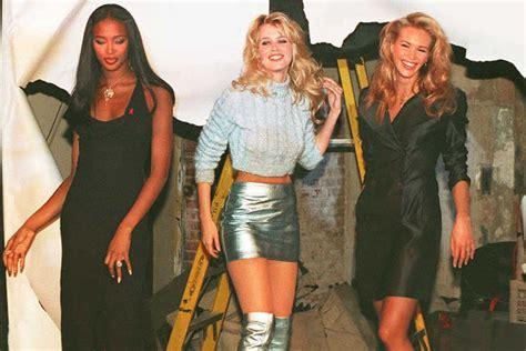 90 er jahre mode supermodels das waren die model ikonen der 90er jahre