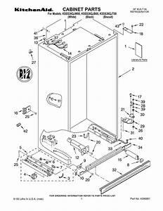 Kitchenaid Side By Refrigerator Wiring Diagram