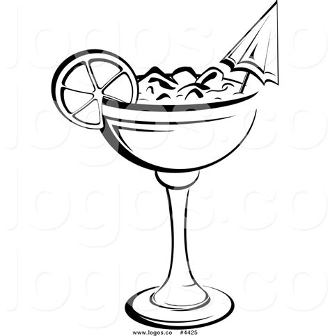 mixed drink clipart black and black and white cocktails clipart 26