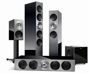 Test Lautsprecher Surround - Kef Reference 5 1-set