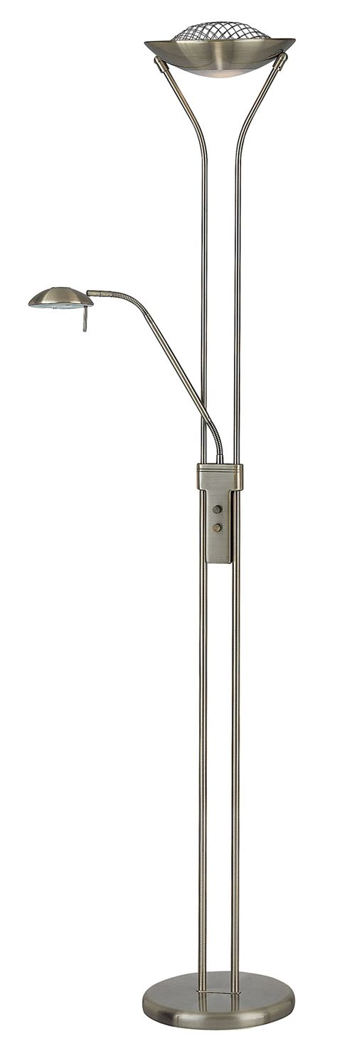 reading floor ls adjustable lite source ls 80984ab duality torchiere floor l with
