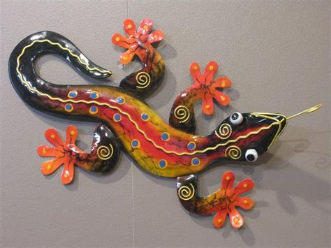 decoration murale metal accessoires deco 1000 images about gecko on