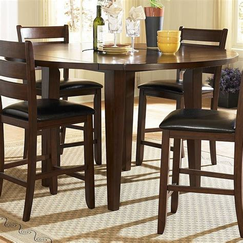 ameillia  square counter height dining room set