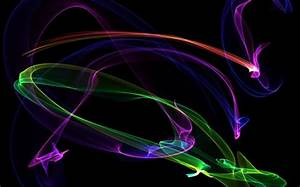 ABSTRACT NEON 3D and CG & Abstract Background Wallpapers