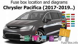 Fuse Box Location And Diagrams  Chrysler Pacifica  2017