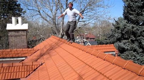 walking  roof tiles youtube