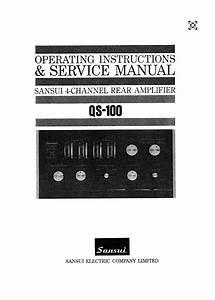 Sansui Qs-100