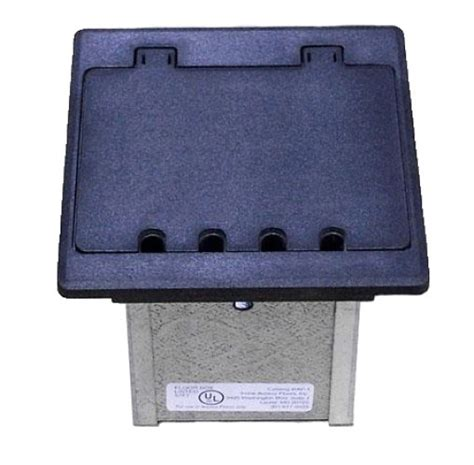 vinyl square flooring in floor electrical box small for data centers and offices