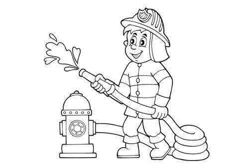 Kleurplaat Brandweer Peuters by Pin Brandweer Kleurplaten On