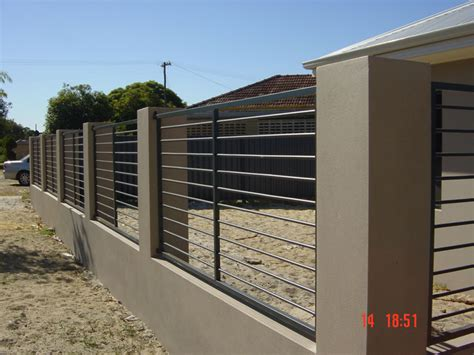 modern fence designs metal perth light metal fabrication products fences gates a frames sign frames etc for the