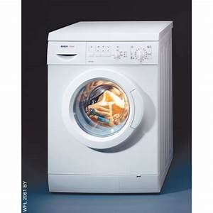 Bosch Exxcel 8 Washing Machine Instruction Manual
