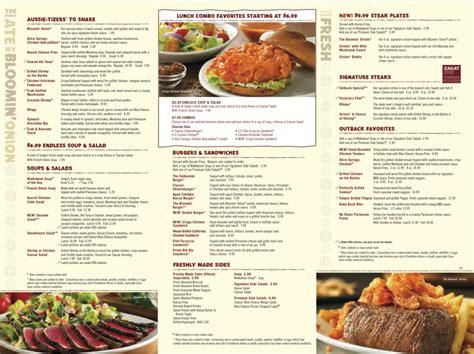outback steakhouse especializada na culinaria