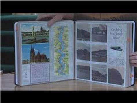 scrapbooking ideas travel scrapbook ideas youtube