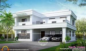 Residence at Bangalore - Kerala home design and floor plans
