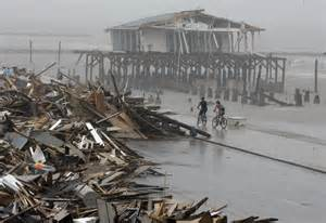 Hurricane Ike 2008 Galveston Texas