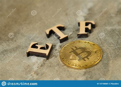 Bitcoin cash already carries a name that has a huge marketing campaign behind it and it actually works as a currency, so if i were to guess bitcoin cash there's an etf for pretty much anything, and a bitcoin etf will certainly be as widely held as any other random etf. Bitcoin Coin With ETF Text On Stone Background Stock Image - Image of success, fund: 147180681