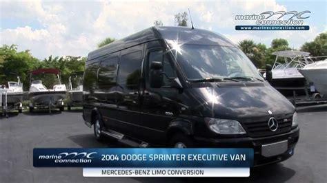dodge sprinter mercedes benz executive limousine van