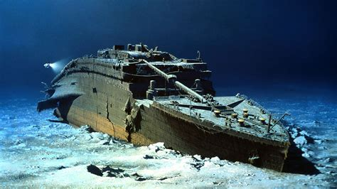 where did the titanic sink titanic wreck photo