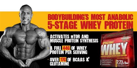 A Closer Look Into Mutant Whey Protein: An Honest Review