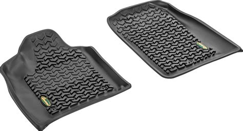 Quadratec All Weather Floor Mats by Quadratec 174 Ultimate All Weather Front Floor Liners For 13