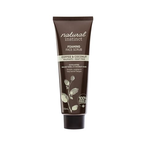For years, health advice has warned against consuming saturated fats, and coconut oil was thrown out with the rest without good reason! Natural Instinct Face Scrub Foaming (Coffee & Coconut) 125ml - Planet Goodness