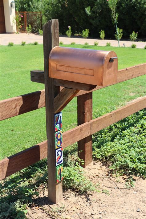 mailbox designs dusty coyote front yard fencing and a mailbox