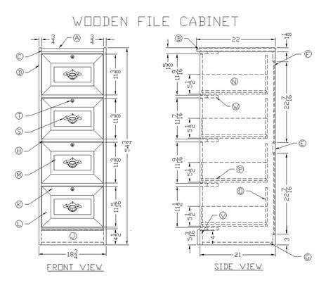 woodwork woodworking plans filing cabinet  plans