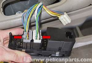 Volvo V70 Power Window Switch Replacement  1998