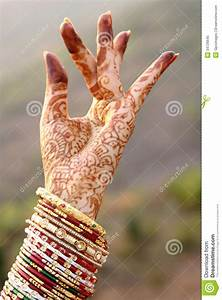 Beautiful Hands Of An India Bride Royalty Free Stock Photo ...