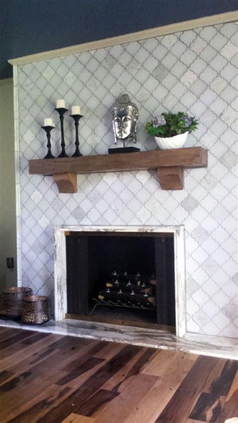 Best 25  Mosaic tile fireplace ideas on Pinterest