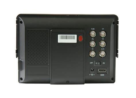 ingresso composito lilliput 668gl co monitor per videocamera dslr hd