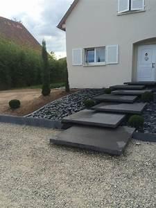 entree exterieur maison moderne cheap entree exterieure With nice amenagement exterieur jardin moderne 1 amnager entre extrieure maison cool amnagement entre