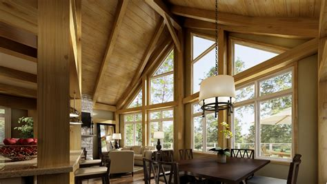 beaver homes  cottages whats included timber frame