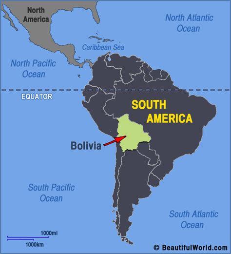 map  bolivia facts information beautiful world