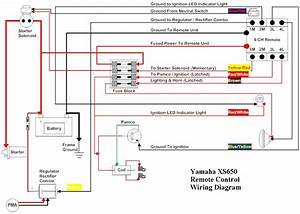 Lighht Wiring Diagram Yamaha Road Star Tail