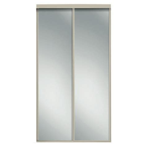 contractors wardrobe 48 in x 96 in concord brushed