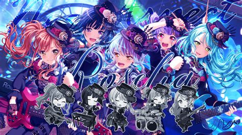 礎なるone's intention 歌は凛々しく 百花繚乱 輝かしきone's intention (shout r is a song by roselia. Made a wider wallpaper for Roselia's new event and cards : BanGDream
