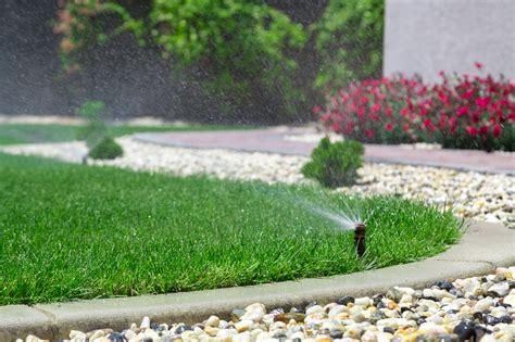 landscape sprinkler system watering techniques lawn sprinkler design springfield mo