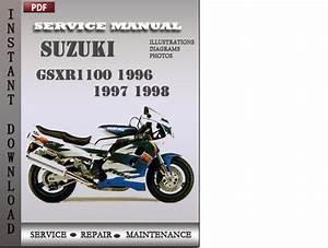 Suzuki Gsxr1100 1996 1997 1998 Factory Service Repair