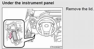 Toyota Prius C Questions - Cig Power Outlet Fuse
