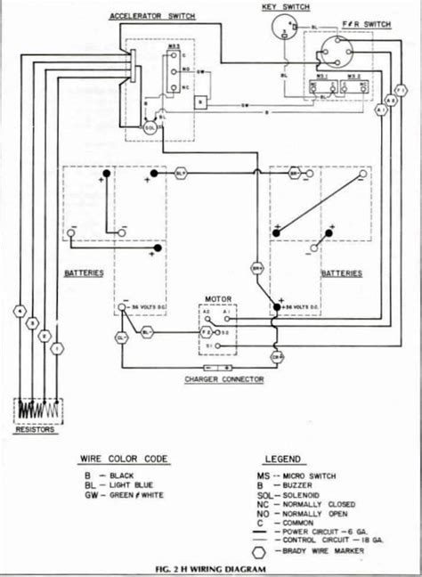 wiring diagram for 1981 and ezgo with resistor speed