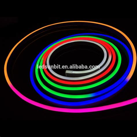 Neon Lade by 24v Rgb Led Neon Flex With Dmx Controller Buy 24v Rgb