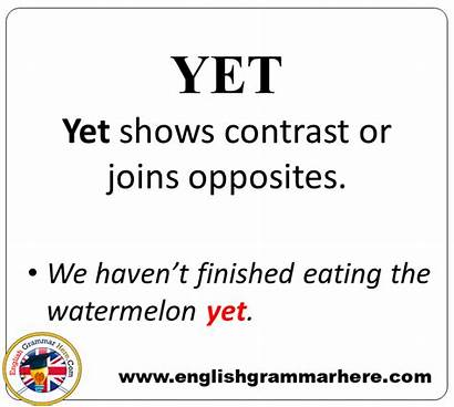 Sentences Conjunctions Example Detailed Expression Grammar Conjunction