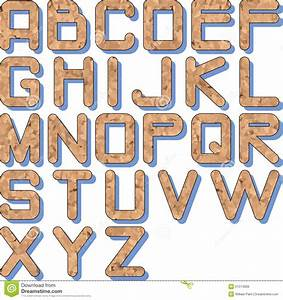 cork texture alphabet royalty free stock images image With cork alphabet letters